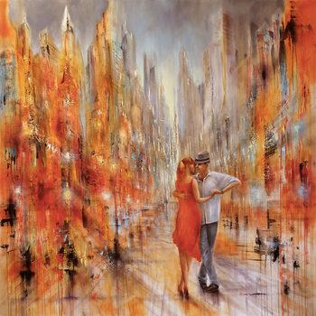 Canvas Print Salsa