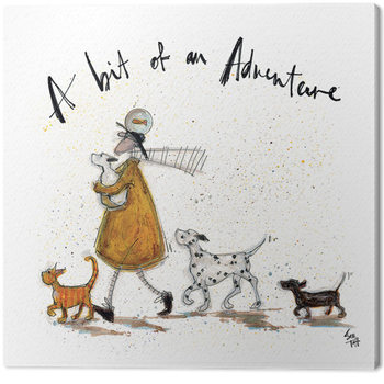 Sam Toft - A Bit of an Adventure Canvas Print