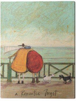 Canvas Print Sam Toft - A Romantic Tryst