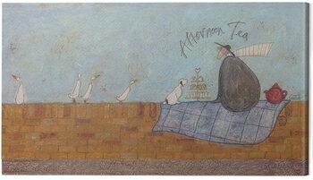 Canvas Print Sam Toft - Afternoon tea