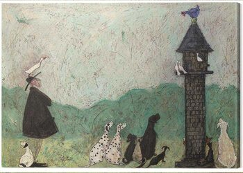 Canvas Print Sam Toft - An Audience With Sweetheart