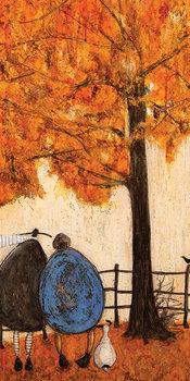 Sam Toft - Autumn Canvas Print