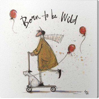 Canvas Print Sam Toft - Born to be Wild