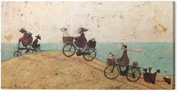 Canvas Print Sam Toft - Electric Bike Ride