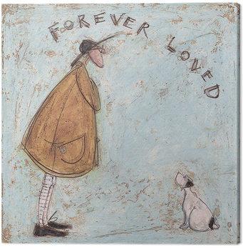 Canvas Print Sam Toft - Forever Loved