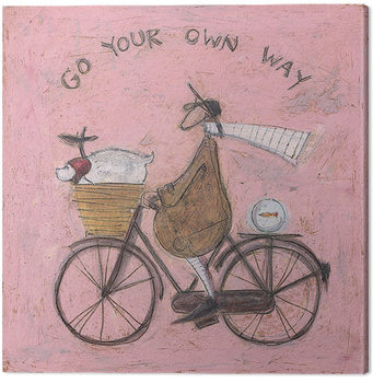 Sam Toft - Go Your Own Way Canvas Print