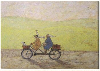 Canvas Print Sam Toft - Grand Day Out