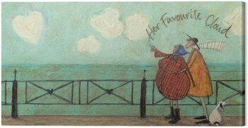 Canvas Print Sam Toft - Her favourite cloud II