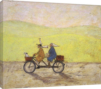 Sam Toft - I Would Walk To The End Of The World With You Canvas Print