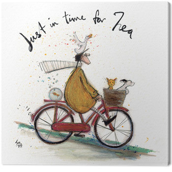 Canvas Print Sam Toft - Just in Time for Tea
