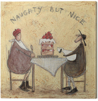 Sam Toft - Naughty But Nice Canvas Print