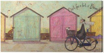 Canvas Print Sam Toft - Out for a Bit O' Brunch