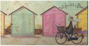 Canvas Print Sam Toft - Out for a bit O Brunch