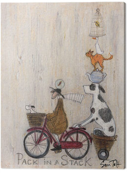 Canvas Print Sam Toft - Pack in a Stack