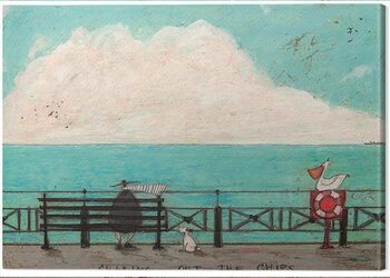 Canvas Print Sam Toft - Sharing out the Chips