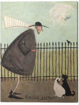 Canvas Print Sam Toft - Singing Lessons