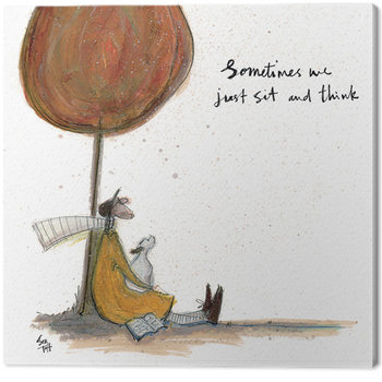 Sam Toft - Sometimes we Just Sit and Think Canvas Print