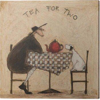 Canvas Print Sam Toft - Tea Fot Two
