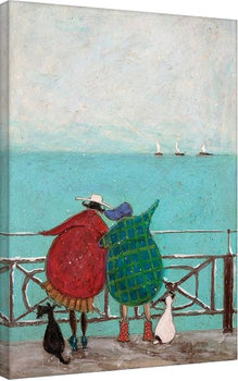 Canvas Print Sam Toft - We Saw Three Ships Come Sailing By