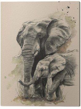 Canvas Print Sarah Stokes - Proud