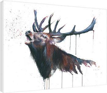 Sarah Stokes - Roar Canvas Print
