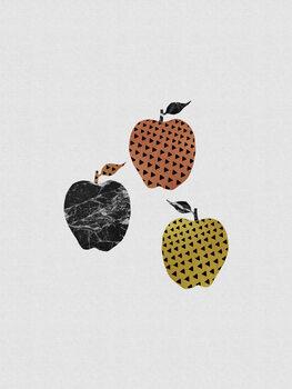 Canvas Print Scandi Apples