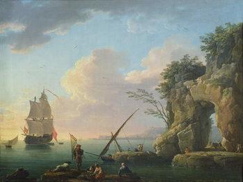 Seascape, 1748 Canvas Print