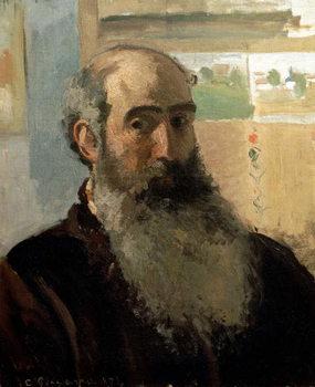 Self Portrait, 1873 Canvas Print