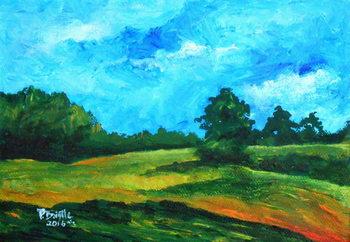 Simple surroundings, 2016 Canvas Print