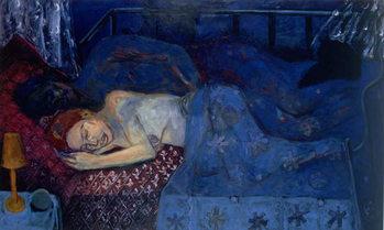 Sleeping Couple, 1997 Canvas Print