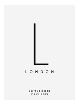 Canvas Print slick city london