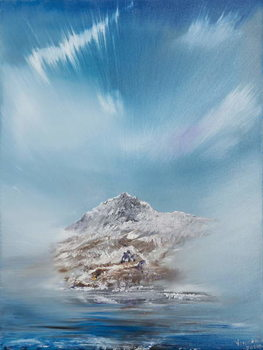 Snowdon 2, 2014, Canvas Print