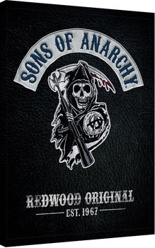 Sons of Anarchy - Cut Canvas Print