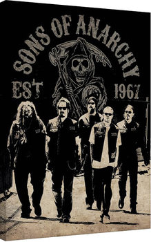 Canvas Print Sons of Anarchy - Reaper Crew