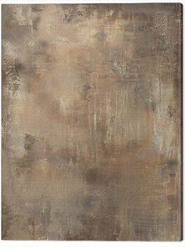 Canvas Print Soozy Barker - Gold Stone