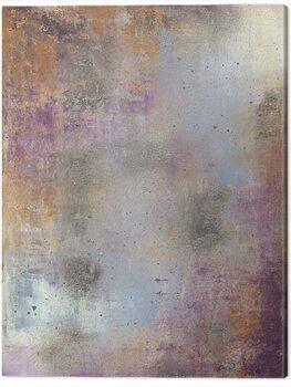 Canvas Print Soozy Barker - Waterlily Silver