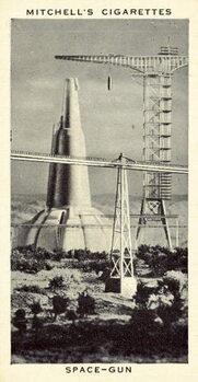Space-Gun Canvas Print