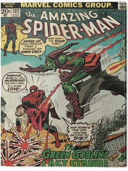 Canvas Print Spider-Man - Green Goblin