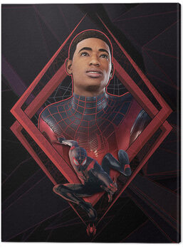Canvas Print Spider-Man Miles Morales - Be Greater