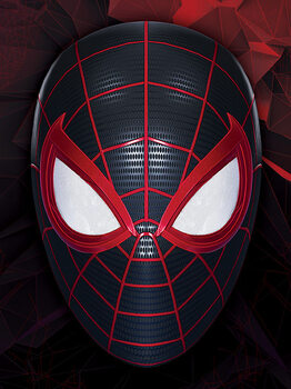 Canvas Print Spider-Man Miles Morales - The Mask of a Hero