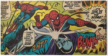 Canvas Print Spider-Man - Settle the Scores