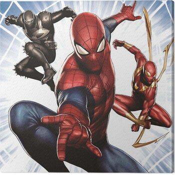 Canvas Print Spider-Man - Trio