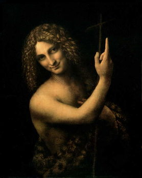 Canvas Print St. John the Baptist, 1513-16