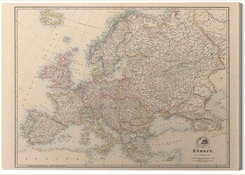 Canvas Print Stanfords - Europe Map