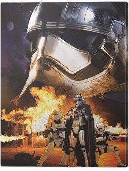 Canvas Print Star Wars Episode VII - Captain Phasma Art