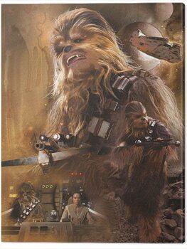 Canvas Print Star Wars Episode VII - Chewbacca Art