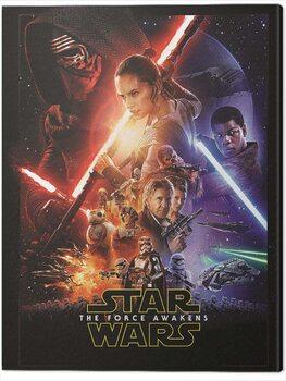 Canvas Print Star Wars Episode VII - One Sheet