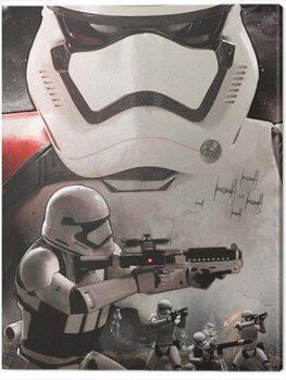 Canvas Print Star Wars Episode VII - Stormtrooper Art