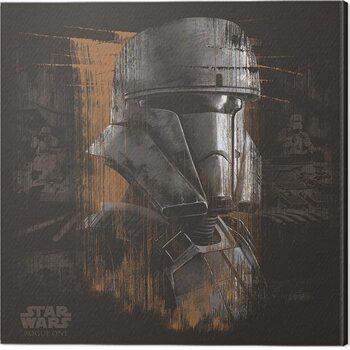 Canvas Print Star Wars: Rogue One - Tank Trooper Black