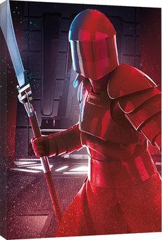 Canvas Print Star Wars The Last Jedi - Elite Guard Blade